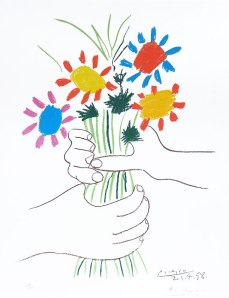 picasso the flowers of peace