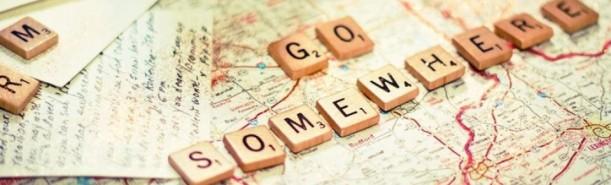 go somewhere